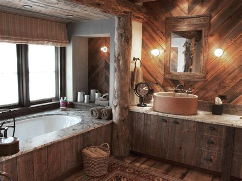 oval bath mirror 25 rustic bathroom decor ideas for
