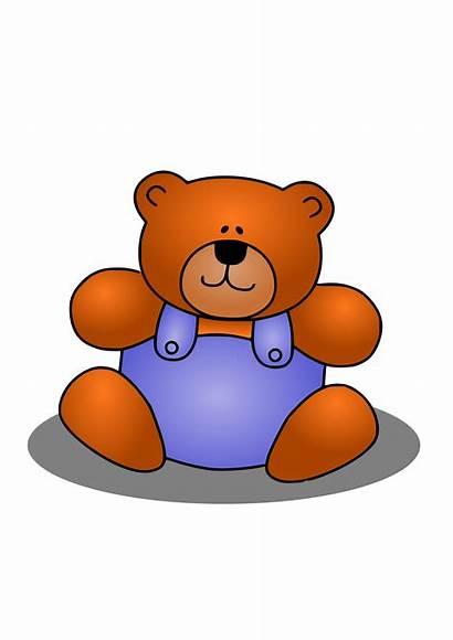 Bear Clip Clipart Animal Teddy Stuffed Cliparts