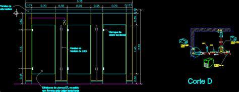 restroom partitions  autocad  cad