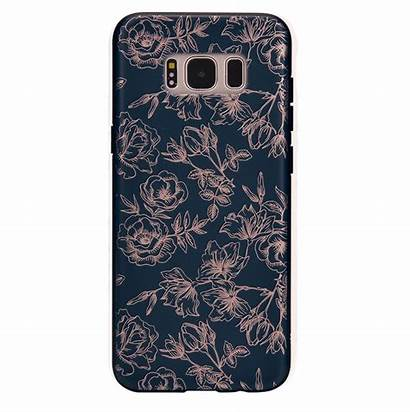Galaxy Samsung Cases Floral Phone Rose S8