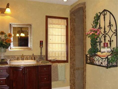 tuscan decorating ideas bathroom yellow paint tuscan