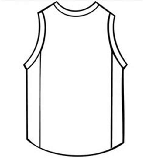 basketball jersey template basketball jersey back clipart clipartxtras