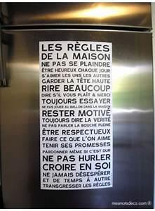 Regle De Vie A La Maison : 3 magnets vie de famille r gles de la maison to do ~ Dailycaller-alerts.com Idées de Décoration