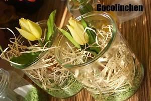 Frühlingsdeko Im Glas : cocolinchen fr hling im weckglas diy pinterest weckgl ser geweckt und glas ~ Orissabook.com Haus und Dekorationen
