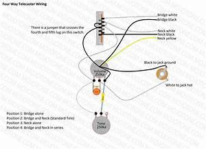 Fender 52 Hot Rod Telecaster Wiring Diagram