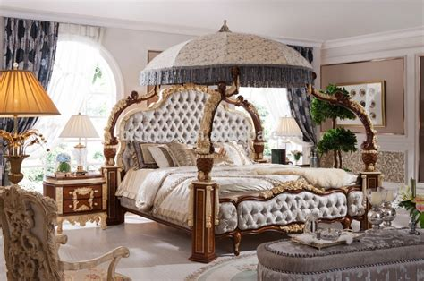 european style bedroom sets wooden carved european style fancy classical canopy