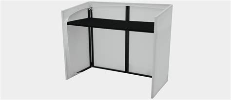 dj tisch verkleidung omnitronic mobile dj stand incl cover store professional