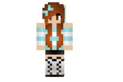 cute beanie girl skin mod minecraftnet