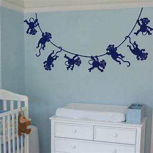 lots of monkeys swinging wall decals With monkey wall decals