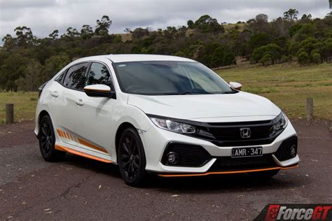 2018 Civic Reviews by 2018 Honda Civic Hatch Vti L Orange Edition Review