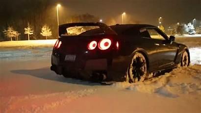 Nissan Gtr Cars Snow Jdm R35 Skyline