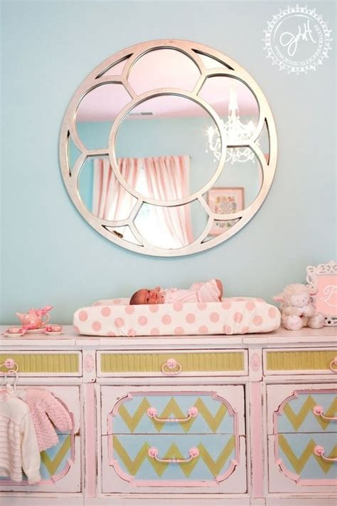 table ls for baby nursery baby nursery changing table mirror homegoods