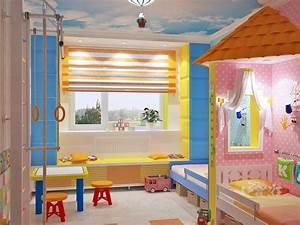 Kinderzimmer Einrichten Mädchen : kinderzimmer komplett gestalten junge und m dchen teilen ein zimmer kinderzimmer pinterest ~ Sanjose-hotels-ca.com Haus und Dekorationen