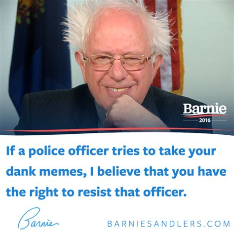 Bernie Dank Memes - barnie sandlers resist the dank oppression bernie sanders know your meme