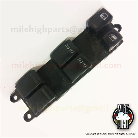 airbag deployment 1999 infiniti i windshield wipe control 02 03 04 infiniti i35 master driver left front window switch oem mile high parts used auto parts