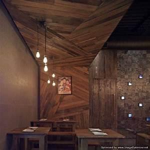 Wood retaining wall design idea the interior design for Interior design wood walls