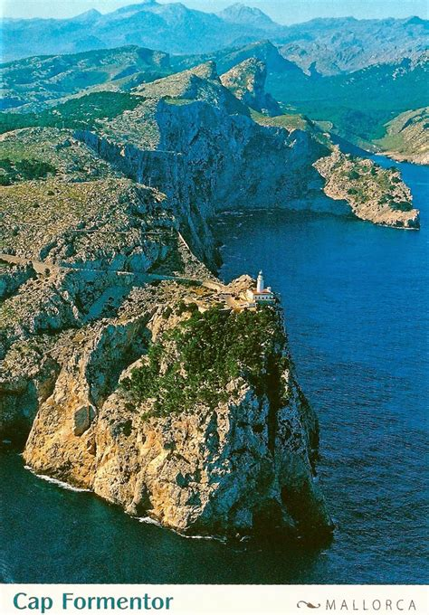 My Favorite Postcards Cap Formentor Mallorca Island In Spain
