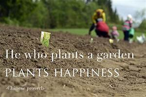 3 Lessons From ... Garden Happiness Quotes