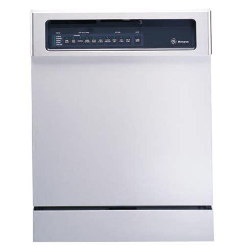 zbddss ge monogram american design stainless steel dishwasher  permatuf interior