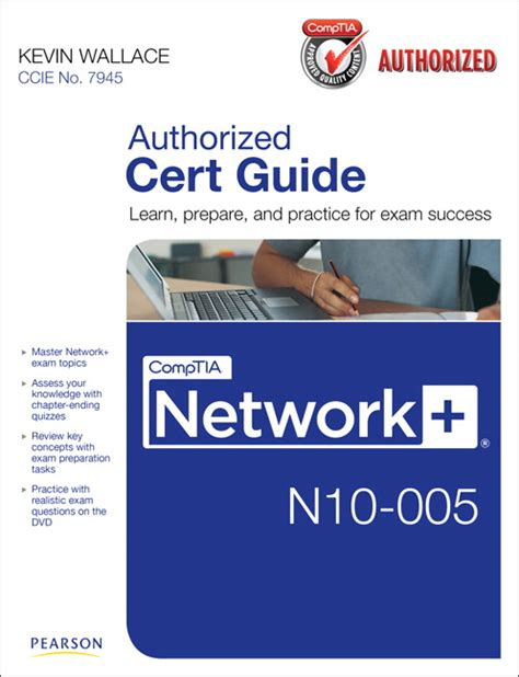Wallace, Comptia Network+ N10005 Cert Guide Pearson
