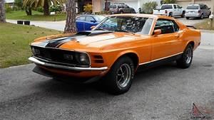 1970 Ford Mustang Mach 1 Fastback Grabber Orange 351 V8
