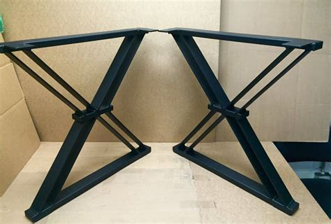 Pin on metal legs for tables