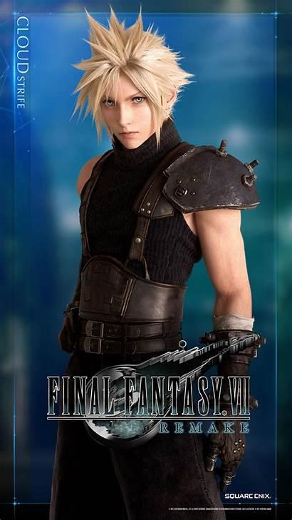 Remake Cloud Fantasy Final Vii Ff7 Strife