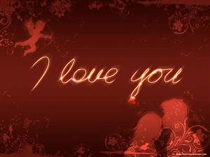 1024x768 I love you desktop PC and Mac wallpaper