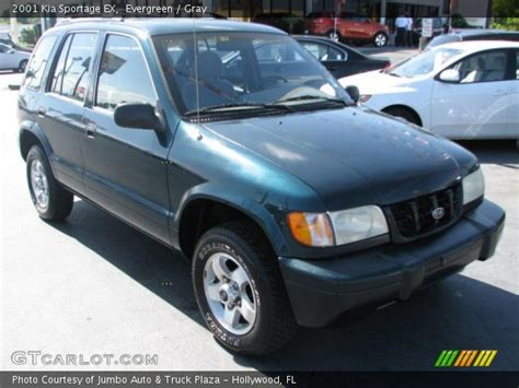 2001 Kia Sportage Ex by Evergreen 2001 Kia Sportage Ex Gray Interior