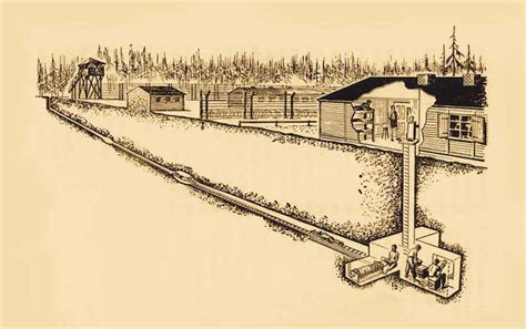 escape tunnel prison nazi harry war stalag luft iii cross nova pow military movie prisoner section interactive which route showing