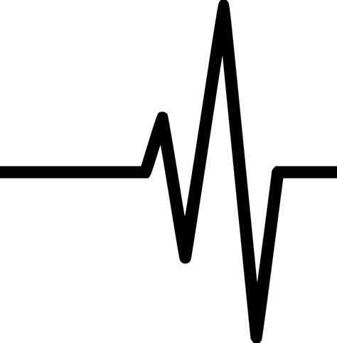 Heart Beat Svg Png Icon Free Download (#491017 ...