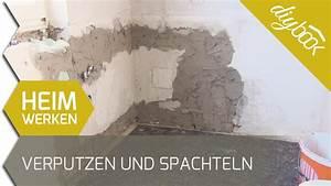 Wand Verputzen Außen : verputzen und spachteln 2d youtube ~ A.2002-acura-tl-radio.info Haus und Dekorationen