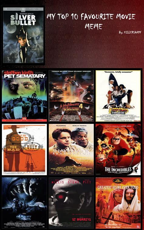 Best Memes Of 2010 - top ten favorite movies meme by fracfx on deviantart
