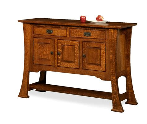 Sideboard Furniture amish rustic dining room sideboard server buffet cambridge