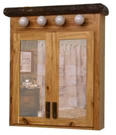 Hickory Medicine Cabinet by Real Hickory Log Medicine Cabinet Made From Solid Hickory