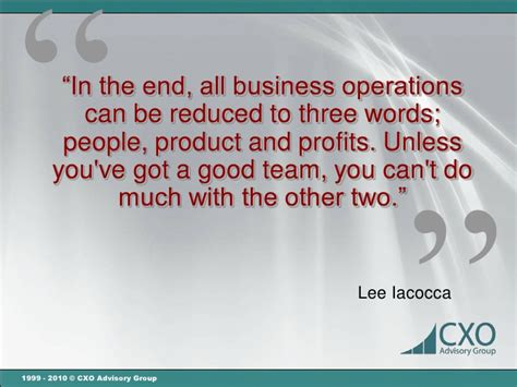famous quotes business operations