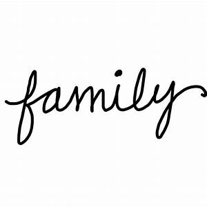Family Is Forever Word Art | www.imgkid.com - The Image ...