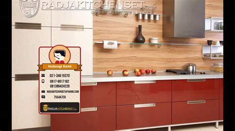 harga kitchen set jati belanda  meter
