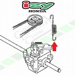 Honda Izy Hrg 415   465 Gearbox Tension Spring