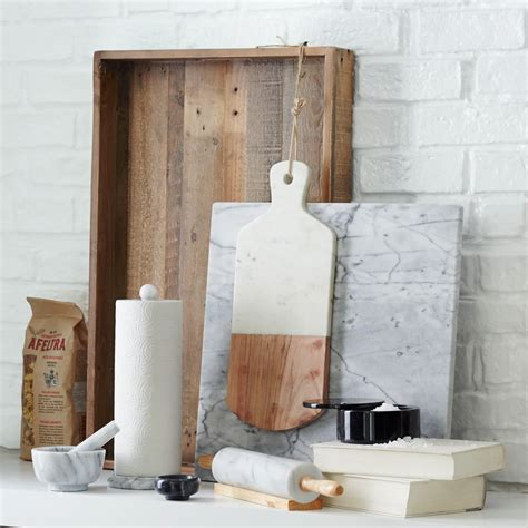 marble kitchen accessories marble wood chopping board west elm australia 4006