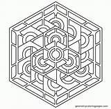 Coloring Pages Pattern Geometric Adults Geometry Patterns Shapes Sacred Designs Print Adult 3d Zentangle Printable Mandala Books Imgur Comments Coloringhome sketch template