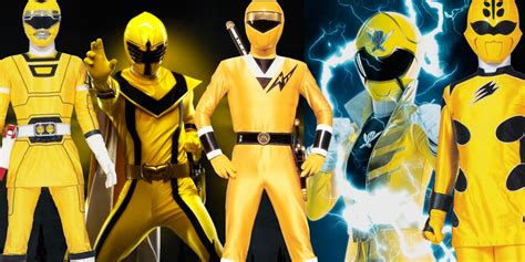 Every Yellow Power Ranger, Ranked | ScreenRant
