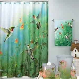 Summer Jewels Hummingbirds Shower Curtain At Hayneedle
