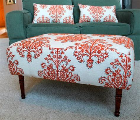 ottoman with matching pillows ottoman upholstery colors and a project