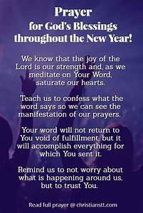 Prayer for Bles... New Year Pray Quotes