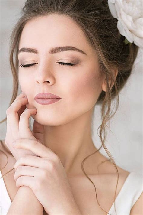 ideas  natural bridal makeup maquiagem noiva