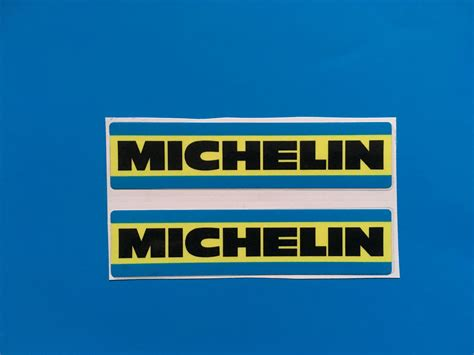 michelin     style racing rally car sticker decal
