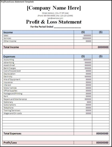 simple business accounting spreadsheet accounting