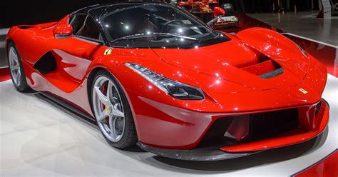 Ferrari Car : Fastest Ferrari Ever Unveiled, And It's A Hybrid