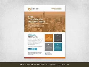 Corporate Flyer Design In Microsoft Word Free